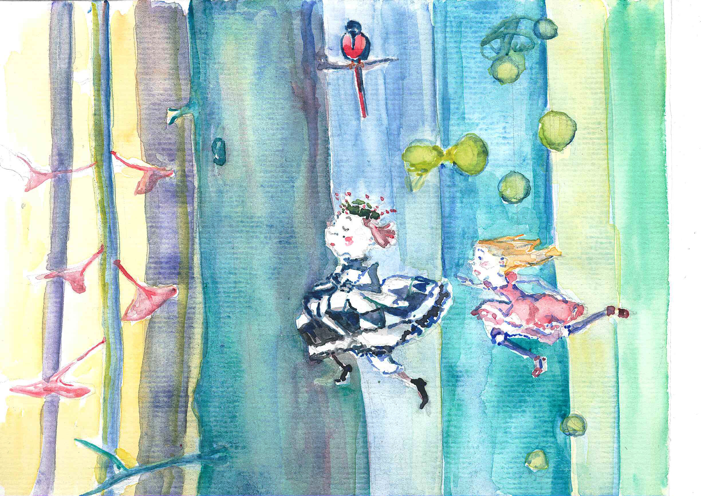 alice pursuing the tree