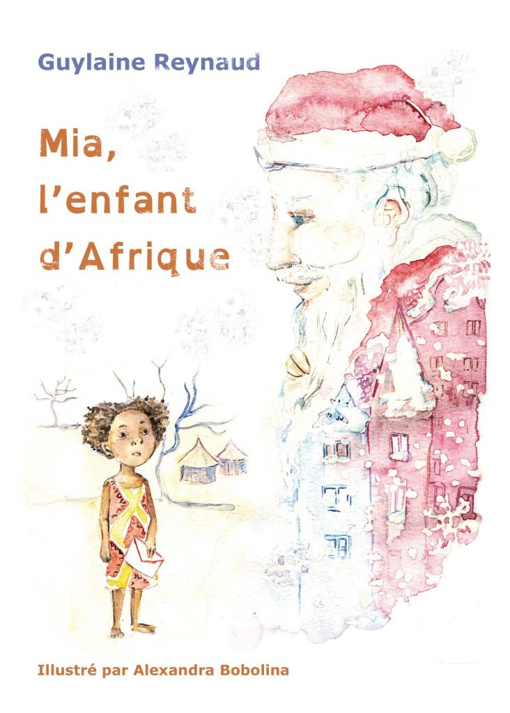 couverture Mia l'enfant d'Afrique